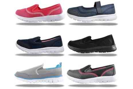 Groupon Goods Global GmbH - Womens Superlite Shock Absorbing Trainers - Save 0%