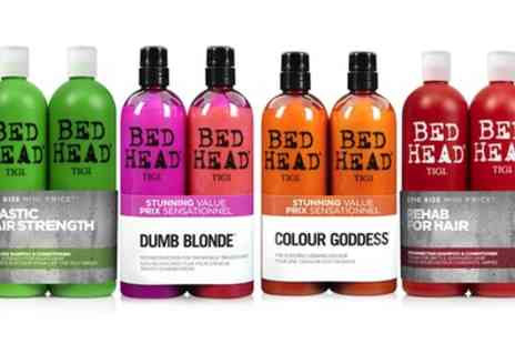 Groupon Goods Global GmbH - One or Two TIGI Bed Head Shampoo and Conditioner Sets 750ml - Save 51%