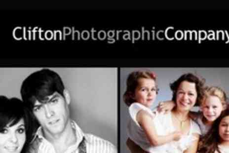 Clifton Photographic Company - Choice of Makeover Photo Shoot or Family Photo Shoot - Save 83%