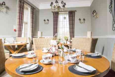 The Manor - Two Course Lunch with Leisure Suite Access for One or Two - Save 26%