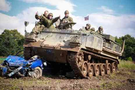 Tank Driving Scotland - Tank Riding or Driving Experience for Up to Four - Save 0%