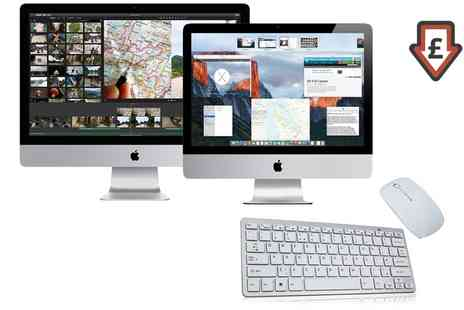 Computer Remarketing Services - Refurbished Apple iMac 20 Inch or 21.5 Inch C2D, Core i3, Core i5 160GB 1TB HDD 4 16GB RAM including Keyboard and Mouse - Save 0%