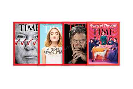 Time Magazine - Time Magazine Subscription With Free Delivery - Save 24%