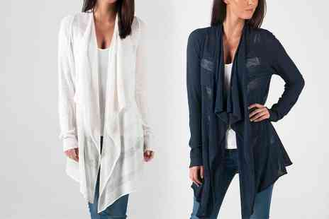 Groupon Goods Global GmbH - Vero Moda Womens Nynne Long Open Cardigan in Choice of Colour - Save 47%