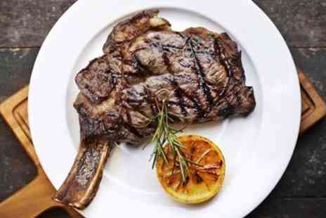 The Chop Shop London - Great steak meal including sides & wine - Save 37%