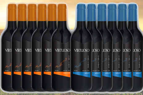 karpedeal - Selection of 12 Bottles Virtuoso - Save 68%
