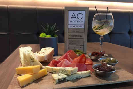 AC Hotel by Marriott - Six gin samples with mixers plus a sharing platter for two - Save 0%