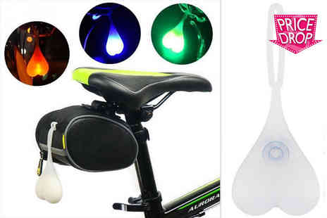 London Exchain Store - Led bike balls tail light Three colours - Save 80%