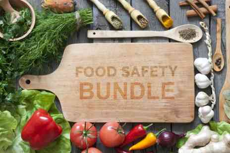 The Training Terminal - Online food safety course bundle with three accredited courses - Save 79%