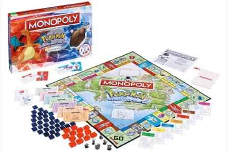 Groupon Goods Global GmbH - One or Two Pokemon Monopoly Board Games - Save 37%