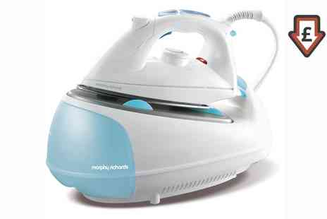 Groupon Goods Global GmbH - Morphy Richards 333021 Jet Steam Generator Iron 2200W - Save 72%