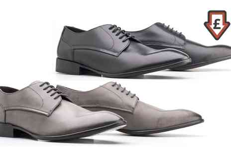 Groupon Goods Global GmbH - Base London Mens Burnished Leather Morse Shoes - Save 65%
