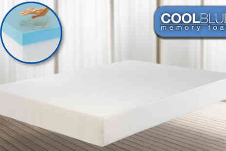 My mattress Online - Single Coolblue Comfort Memory Mattress - Save 82%