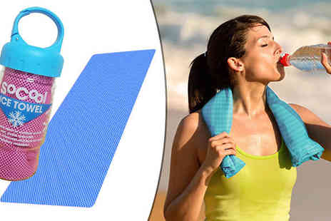 Vivo technologies - Sports Cooling Towel in 2 Colours - Save 90%