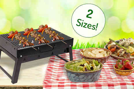 TLD Marketing - Portable Outdoor BBQ Grill in 2 Sizes - Save 76%