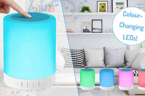 Mobi Trends - Touch Sensor LED Bluetooth Speaker - Save 68%