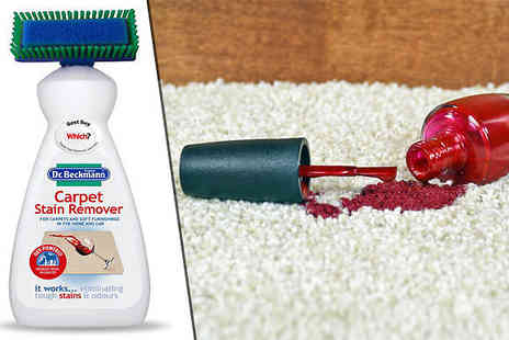 CheekyBox - 2 or 4 bottles of Oxi Powered Carpet Stain Remover with Brush Head - Save 64%