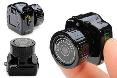 Groupon Goods Global GmbH - Gadget Mini Camera - Save 50%