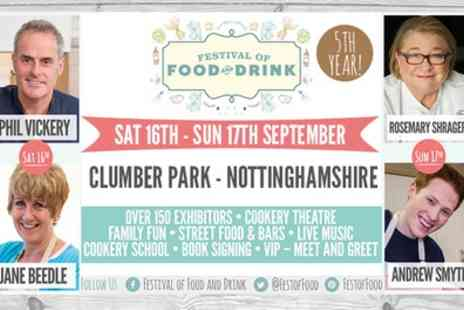 Festival of Food and Drink - Ticket to Festival of Food and Drink For Two - Save 31%