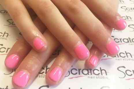Scratch Nail Studio - Express Gel Manicure, Pedicure or Both - Save 56%