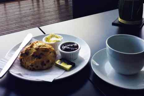 The Cabin Cafe - Cream Tea for Two or Four - Save 0%