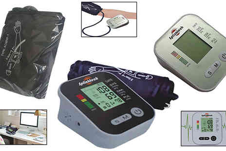 Comxuk - Blood Pressure Monitor Choose 2 Colours - Save 68%