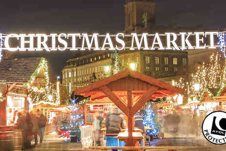 Crystal Travel - Two to Four Night Christmas Market Break With Hotel and Flights - Save 50%