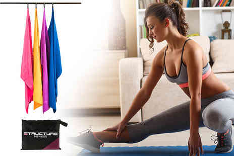 Sashtime - Medium microfibre travel and sports towel choose from four colours - Save 47%
