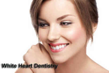 White Heart Dentistry - Dental check up, scale and polish or £39 for check-up, scale, polish and 2 deep cleans - Save 85%