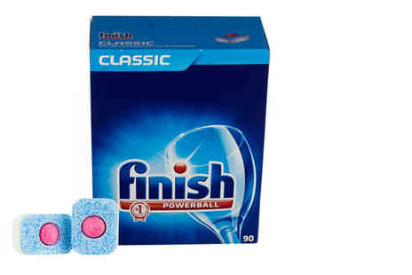 Ckent - Box of 90 Finish Powerball dishwasher tablets - Save 67%