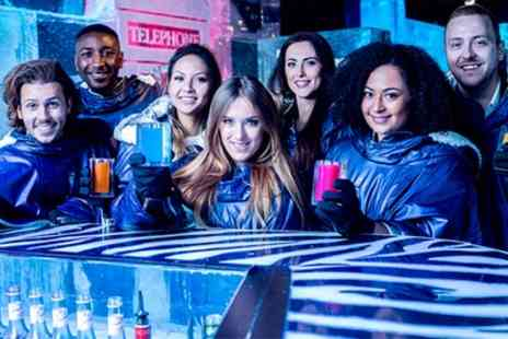 ICEBAR - Three Course Meal and Icebar Experience with Aperitif for Up to Six - Save 35%