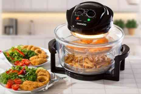 Groupon Goods Global GmbH - Daewoo SDA1032WK 1300W Halogen Air Fryer Oven - Save 57%