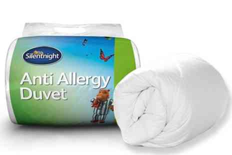 Groupon Goods Global GmbH - Silentnight Anti Allergy Duvet in Choice of Tog and Size - Save 57%