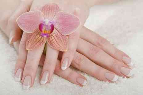 LM Hair - Shellac Manicure, Pedicure or Both - Save 33%