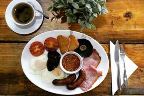 Foleys Cafe - Full English Breakfast and Hot Drink for One, Two or Four - Save 47%