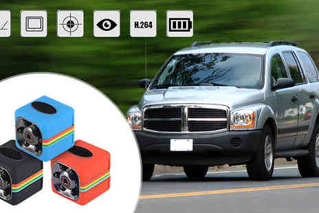 Black Sheep - Mini Car DVR Camera in 3 Colours - Save 62%