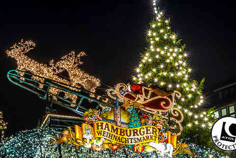 Worldwide Tours & Travel - Two to Four Night Christmas Markets Break With Hotel & Flights - Save 56%