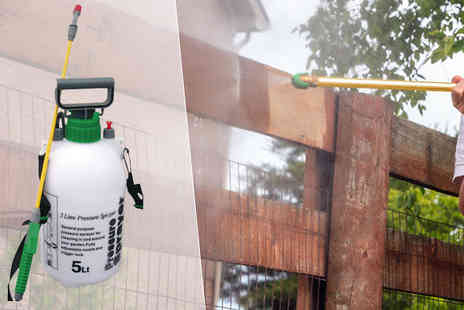 Direct 2 public - 5L or 8L of Garden Pressure Sprayer - Save 72%