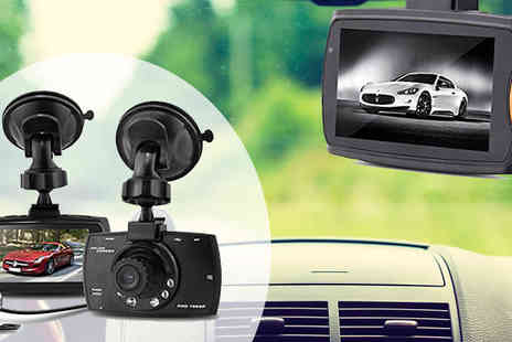 GPSK - HawkEye HD Front & Back Dash Cam plus Collision G Sensor - Save 67%