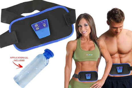 Shop Monk - Abs Gymnic electronic toning belt - Save 45%