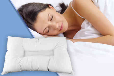 Home Furnishings Company - Orthopaedic anti snore pillow - Save 75%
