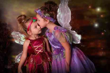 The Click Group - Fairy and elf photoshoot including two prints and two £50 vouchers - Save 0%