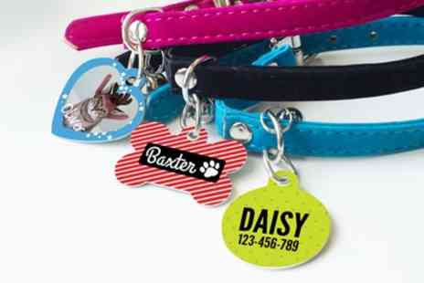 Photobook UK - Up to Three Personalised Pet Tags - Save 40%