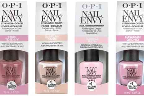 Groupon Goods Global GmbH - One, Two, Three or Four Opi Nail Envy Nail Strengtheners 15ml - Save 59%