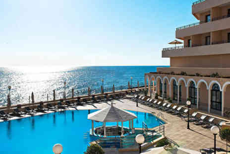 Radisson Blu St Julians - Five Star Coastal Resort Stay For Two with Dazzling Sea Views - Save 42%