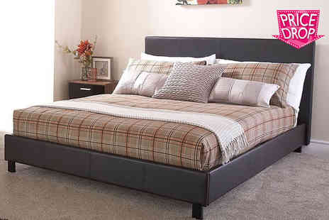 FTA Furnishing - Monaco bed or include optional memory mattress - Save 80%