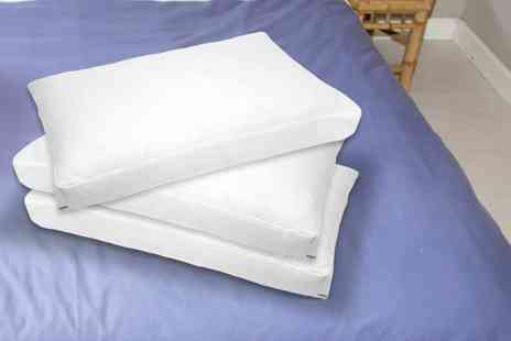 Home Furnishings Company - Pair of luxury deep fill box pillows - Save 50%