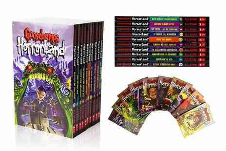 PCS Books - Goosebumps HorrorLand series 10 book collection - Save 67%