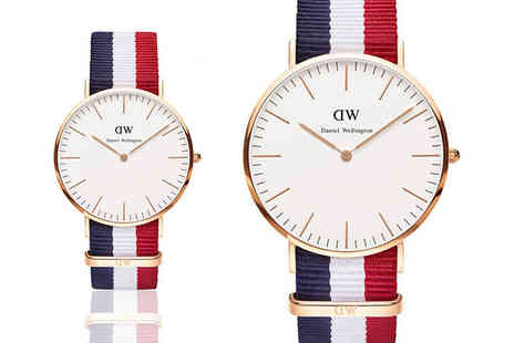Gray Kingdom - Daniel Wellington classic Cambridge watch - Save 54%