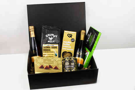 First4Hampers - Sparkling indulgence hamper including Prosecco, biscuits, sweet treats and more - Save 52%
